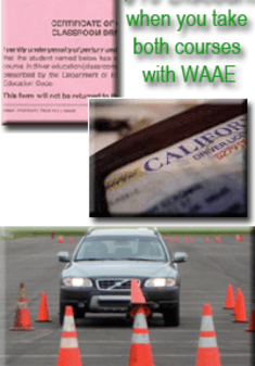 $10 Discount when you take both courses with WAAE